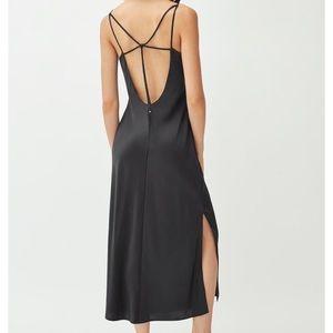 NWT CUYANA Silk Charmeuse Slip Dress
